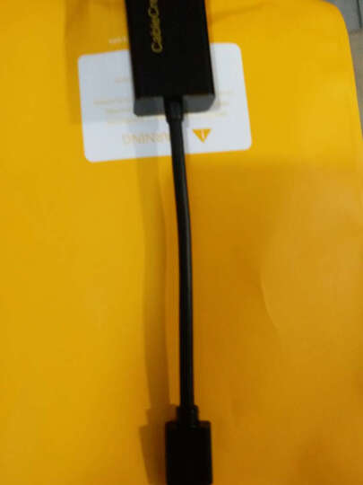 CABLE CREATION CD0027 USB2.0有线百兆网卡 100M以太网适配器 USB转RJ45 Mac Air笔记本 平板外置网卡 白色 晒单图
