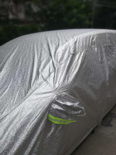 贝麟汽车车衣罩车套外罩车衣车罩铝膜 加厚版-蓝色 马自达36阿特兹昂克赛拉长城c50C30风骏6林肯 晒单图