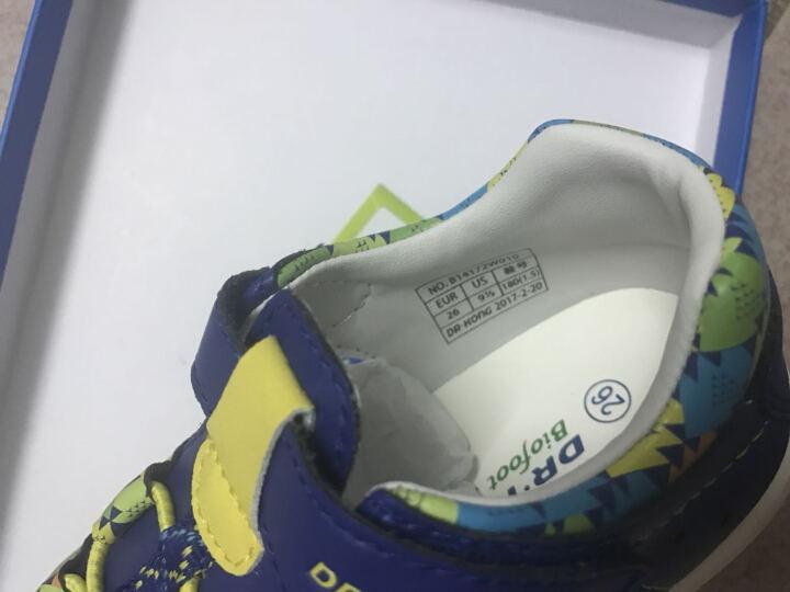 dr.kong江博士童鞋夏季透气婴儿机能鞋防滑包头凉鞋宝宝凉鞋男1-3B14172W010 深蓝色 24码/内长15.2cm 晒单图