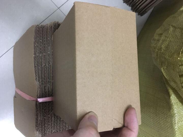 邮政纸箱5-12纸盒子快递纸箱定做包装盒物流打包搬家纸箱飞机盒包装箱快递盒子网店纸箱瓦楞纸 10号 3层 长18CM*宽9CM*高12CM 晒单图
