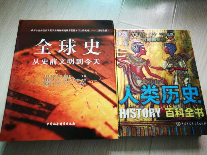 DK全球史:从史前文明到今天 晒单图
