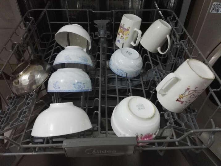 美的(Midea) 13套 不锈钢机身 智能除菌独立式家用洗碗机 Q6 晒单图