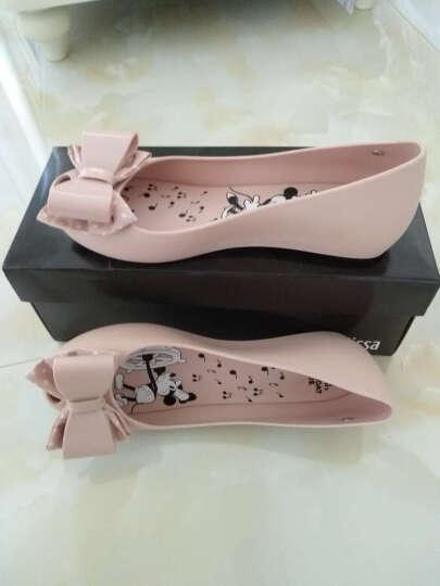 Melissa 梅丽莎女士Ultragirl迪士尼米奇蝴蝶结鱼嘴果冻鞋单鞋32207 粉色PINK 37 晒单图