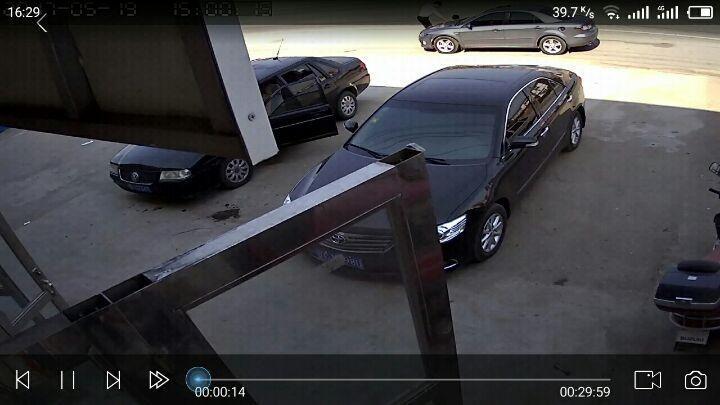 Yestv 监控摄像头高清家用红外夜视摄像机 1200线模拟室外防水监控器安防监控广角探头 经济款半球 -8450M 4mm 晒单图