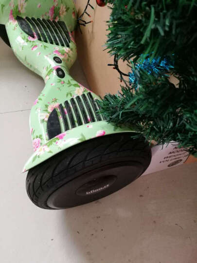 畅行(Freego) 成人儿童智能平衡车两轮 体感车代步车思维自平衡车儿童扭扭车漂移车 10寸真空胎豪华版-炫酷绅黑 晒单图
