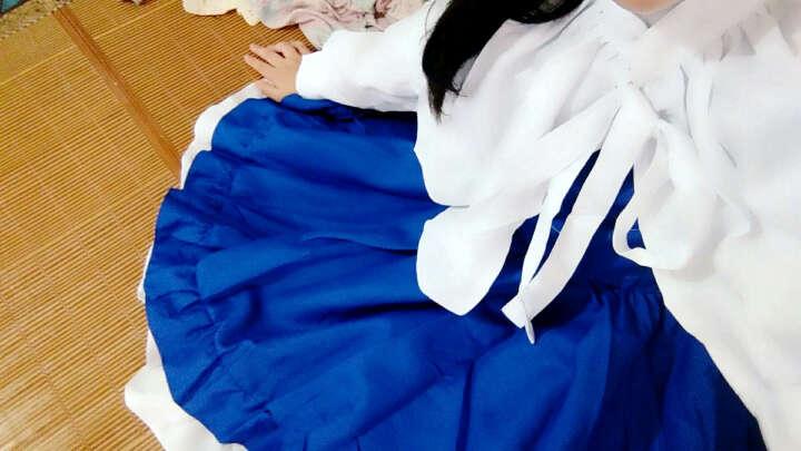 赫搏2018 魔卡少女樱 大道寺知世cos小樱 歌唱家长裙 cosplay日本动漫 黑鞋子(码数备注S=36.M=37.L=38) L(160-170)110斤以上 晒单图