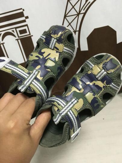 dr.kong江博士童鞋男童凉鞋夏款儿童鞋子包头凉鞋宝宝中童凉鞋S10172W016 绿色 27码/17.5cm 晒单图