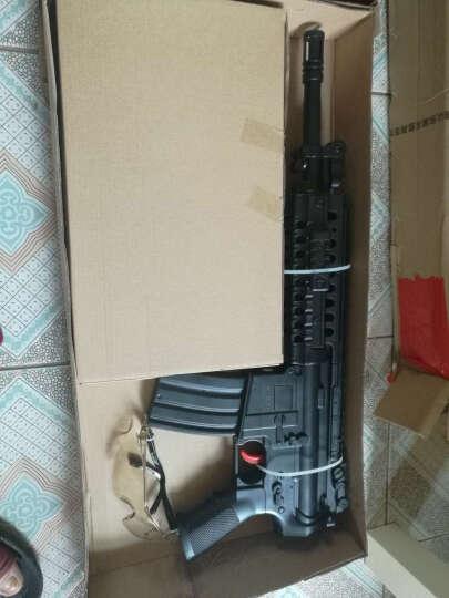 斯泰迪儿童玩具枪水弹枪仿真模型电动连发水晶子弹枪吸水子弹软弹冲锋枪 新升级M4标准版 晒单图