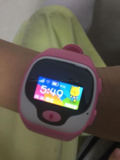 优彼(ubbie)电话手表(粉色) 语音拨号英文翻译智能百科问答儿童手表 学生360度安全定位微聊通话手环手表 晒单图
