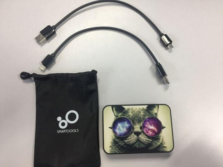 SMARTOOOLS西班牙充电宝超薄小巧手机移动电源轻便携迷你个性定制快充10000毫安 月亮5000毫安2.1A快充 晒单图