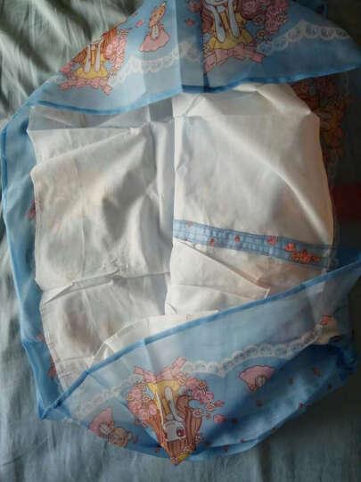 笛莎 DEESHA 女童连衣裙 印花韩国纱连衣裙911721423粉晶色120 晒单图