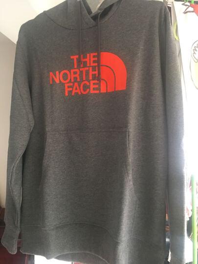 【经典款】TheNorthFace北面防风户外休闲男连帽卫衣 3684 KY4/黑色 XL 晒单图