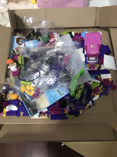 乐高(LEGO) 好朋友系列女孩益智拼装积木玩具 游乐场大型过山车41130 晒单图