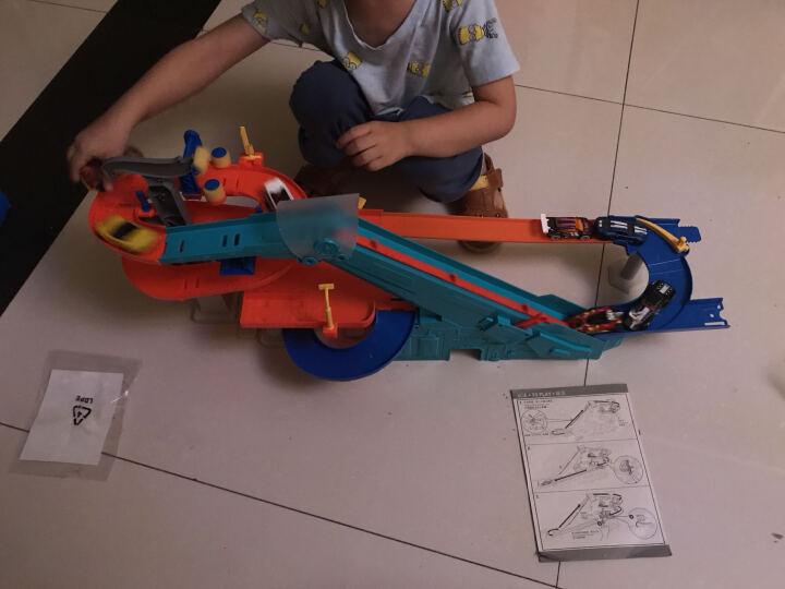 HotWheels风火轮轨道车玩具赛车火辣小跑车赛道玩具轨道车套装 男孩儿童玩具 立体旋转工厂FDF28 晒单图