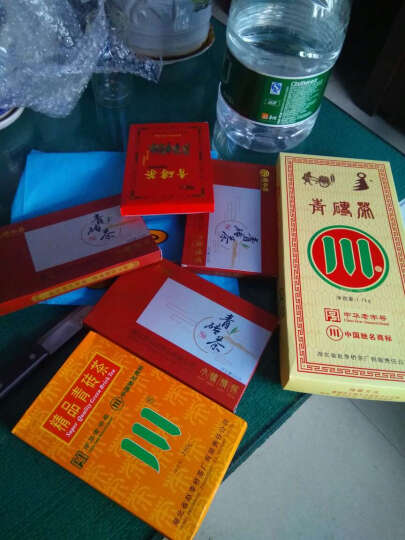 湖北黑茶赵李桥川字牌青砖茶精品250g  晒单图