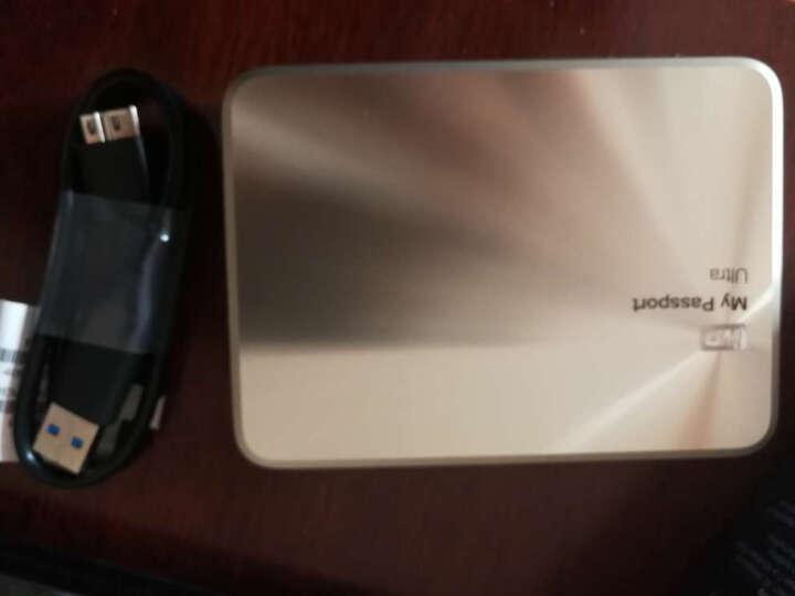 西部数据(WD)My Passport Ultra周年纪念版USB3.0 2TB 超便携移动硬盘 (金色)WDBEZW0020BCG 晒单图
