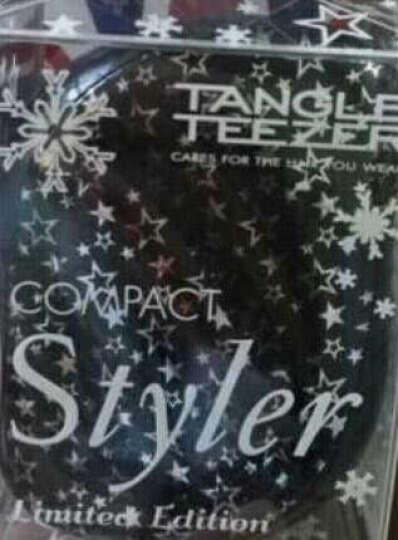 英国Tangle Teezer美发梳王妃TT梳子女按摩卷发梳防打结防静电便携头梳时尚小巧 HelloKitty粉色波点 晒单图