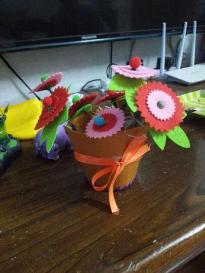 夏季EVA相框 幼儿园儿童贴画手工DIY制作材料包3D立体贴纸粘贴画 鱼儿 晒单图