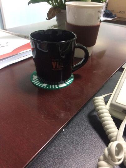 陶瓷杯速溶咖啡杯创意马克杯牛奶杯水杯公司礼品马克杯loho定制 白色VIA单杯 晒单图