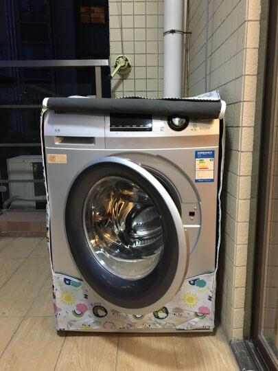 创前 西门子海尔博世美的LG三星小天鹅全自动滚筒洗衣机罩防水防晒隔热防尘罩套子 十二生肖 大号L 晒单图