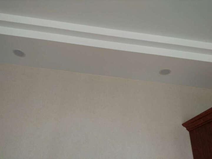 西蒙led筒灯3寸开孔7.0-8.0公分4W筒灯 筒灯孔灯 象牙白款+暖白光 晒单图