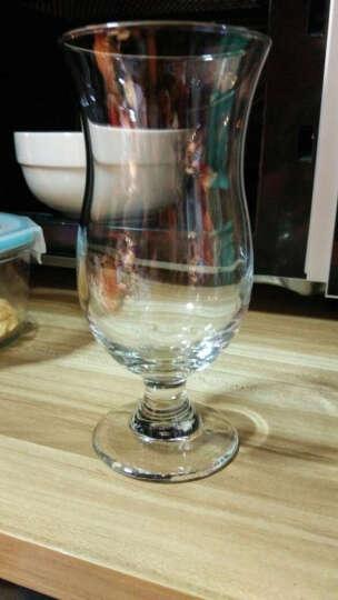 矮脚果汁杯 加厚飓风杯 柠檬薄荷茶杯 耐热茶饮杯 束腰奶茶杯 饮料杯 特色玻璃杯400毫升 晒单图