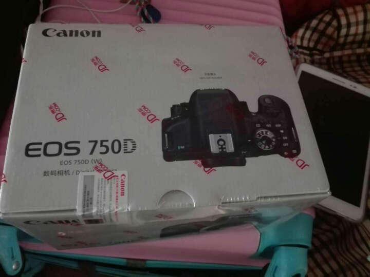 佳能(Canon)EOS 750D 单反相机 单反机身 (约2420万像素 DIGIC6 3.0触控 WiFi/NFC) 晒单图