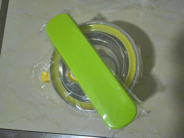 拜格BAYCO 便携不锈钢筷子勺子餐具套装BX4916-B森林绿 晒单图
