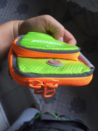卡罗家炫酷运动手机手臂包 手机绑带包 跑步包 钥匙手机包 夜光 蜘珠 L码适合机型见详情 晒单图