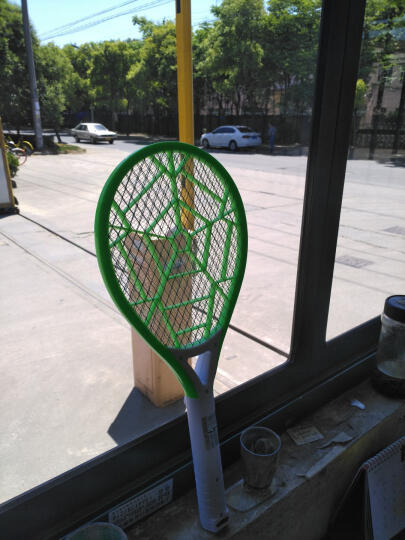 嘉柏兰 电蚊拍充电安全电蚊拍充电式三层大网面驱蚊器苍蝇拍灭蚊拍灭蝇拍驱蚊拍灭蚊器 柠檬黄 晒单图