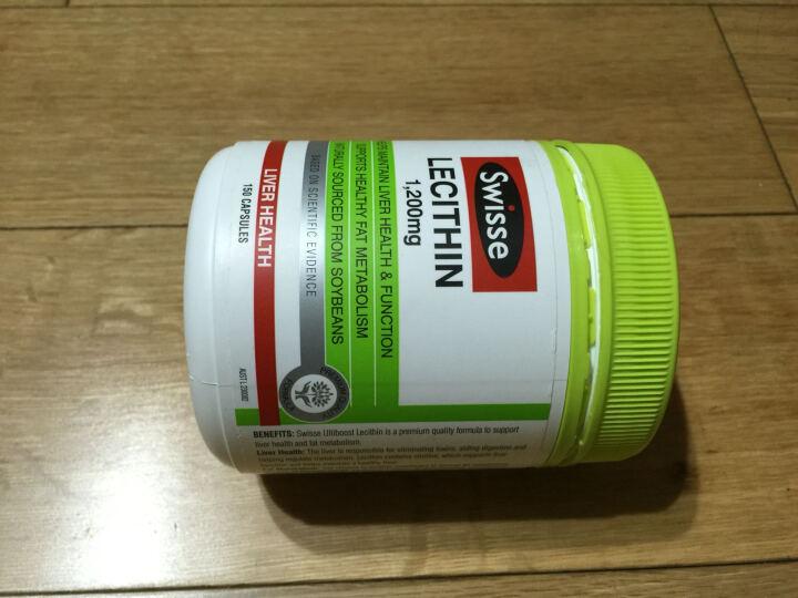 【现货】澳洲进口Swisse大豆卵磷脂胶囊1200mg 150粒 护肝降血糖降三高 晒单图