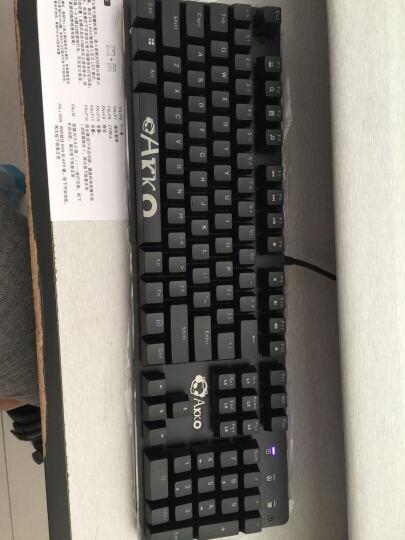 AKKO AKS时空机械键盘 104键 黑色  Cherry樱桃茶轴 晒单图