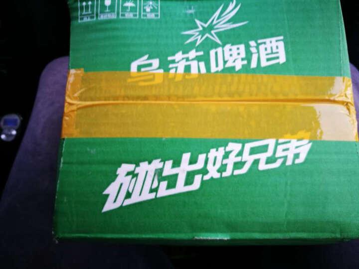 乌苏啤酒(wusu) 原产地发货 新疆乌苏啤酒绿乌苏500ml×12听包邮 晒单图