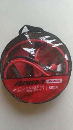 ANMA 电瓶线搭火线 打火线搭电线 过江龙电瓶连接线应急电源电瓶夹3米 AM51800 晒单图