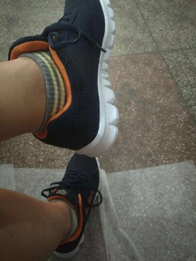 瑞士MATEHOM百搭运动跑鞋网鞋 2017新款减震透气跑步鞋防水耐磨 M1520-宝兰 42 晒单图