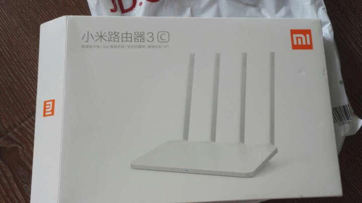 小米(MI)路由器3C 300M 四天线 智能无线路由器 64MB高增益天线 wifi高速穿墙家用稳定路由器 晒单图