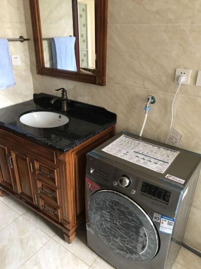 LG WD-H12428D 新品7公斤滚筒洗衣机6种智能手洗 DD变频直驱电机纤薄机身 晒单图
