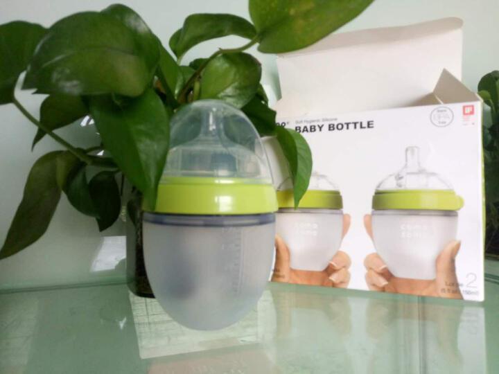美国可么多么(comotomo)新生儿防胀宽口径硅胶奶瓶 婴儿进口防摔奶瓶 防胀气奶瓶 150ml粉色(独立装) 晒单图