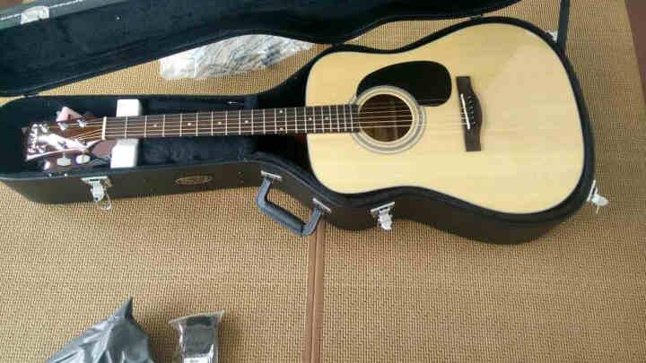 法丽达(Farida) 法丽达Farida D10系列单板民谣木吉他弹唱指弹 D10L圆角原声左手琴 晒单图