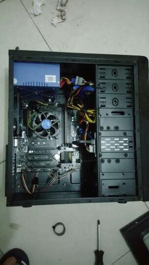 航嘉(Huntkey)额定400W 冷静王蓝钻版电源(静音智能散热/单路30A/主动PFC/双管正激/背部走线) 晒单图