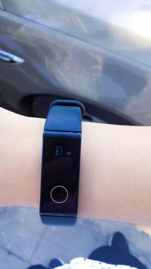 拉卡拉智能手环 自定义五彩TPE材质亲肤腕带 翡翠蓝 晒单图