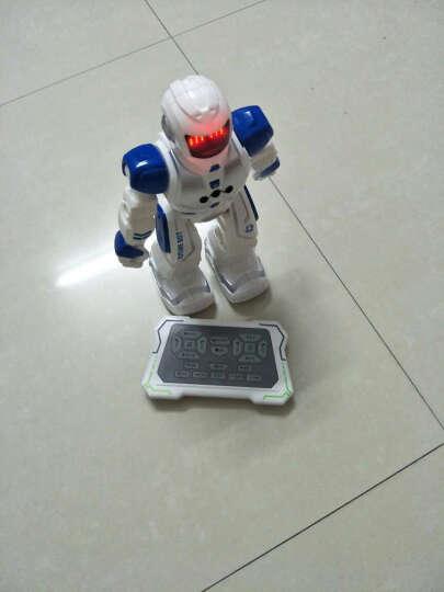 宝贝星(BBS) 机器人玩具智能 新威尔机械战警会跳舞遥控对话机器人男孩儿童益智 机械战警(遥控感应红色) 晒单图