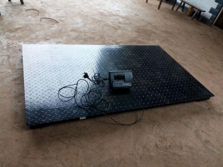 凯丰 【品牌直营】电子地磅秤1-3吨/5T10T 小型电子地磅称重平台秤小秤畜牧磅秤 【加厚款】1.2*2米 1-3吨 晒单图