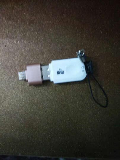 毕亚兹(BIAZE) USB2.0 A母对Micro USB公转接头 OTG转接器 ZT7土豪金 适用U盘/游戏手柄/键盘/游戏手柄 晒单图