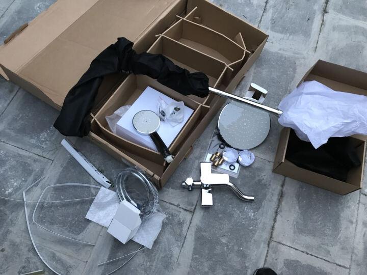上司卫浴(UPSOSC)全铜增压淋浴花洒套装淋浴器全铜龙头淋浴器浴室淋雨沐浴花洒喷头套装 普通全铜(灰) 晒单图