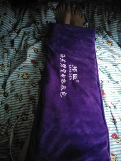 邦臣(BANGCHEN) 艾灸盒随身灸纯铜无烟五年陈艾条蕲艾柱防烫温灸仪器具宫寒妇科家用 【高雅紫色智能款】 晒单图