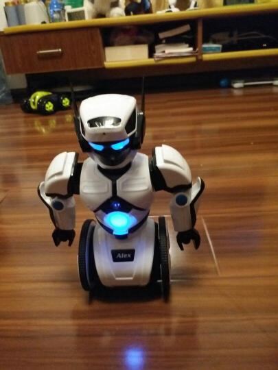 艾力克 智能机器人 自动平衡智能管家玩具 声波编程语音控制 儿童遥控电动对战跳舞机器人  晒单图