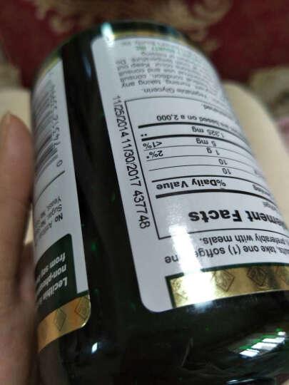 美国自然之宝大豆卵磷脂软胶囊 1325mg鱼油搭档中老年降三高辅助降血压降血糖降血酯 100粒*3瓶 晒单图