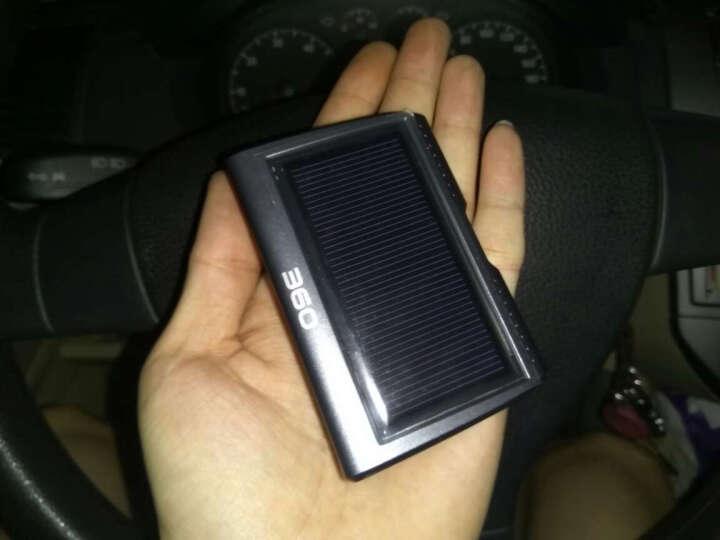 360 胎压监测仪 JP703 太阳能无线外置 实时显示胎压胎温 快捷防盗安装 黑色 晒单图