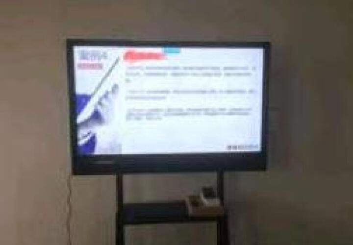 福满门 会议平板 智能会议电子白板电脑投影 高清触摸一体机 电脑投影视频会议 84英寸智能会议平板 带触屏 晒单图